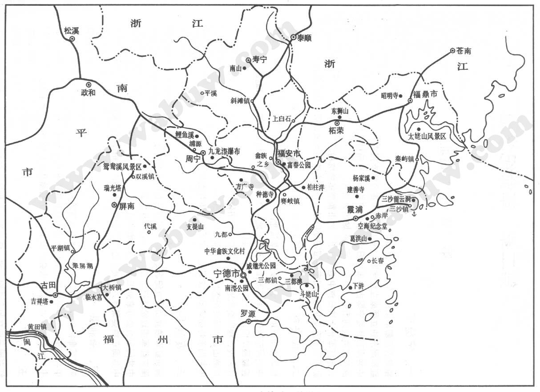 太姥山地图